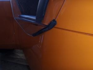 Deflectors rubber edging