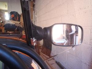 Deflectors mirror view