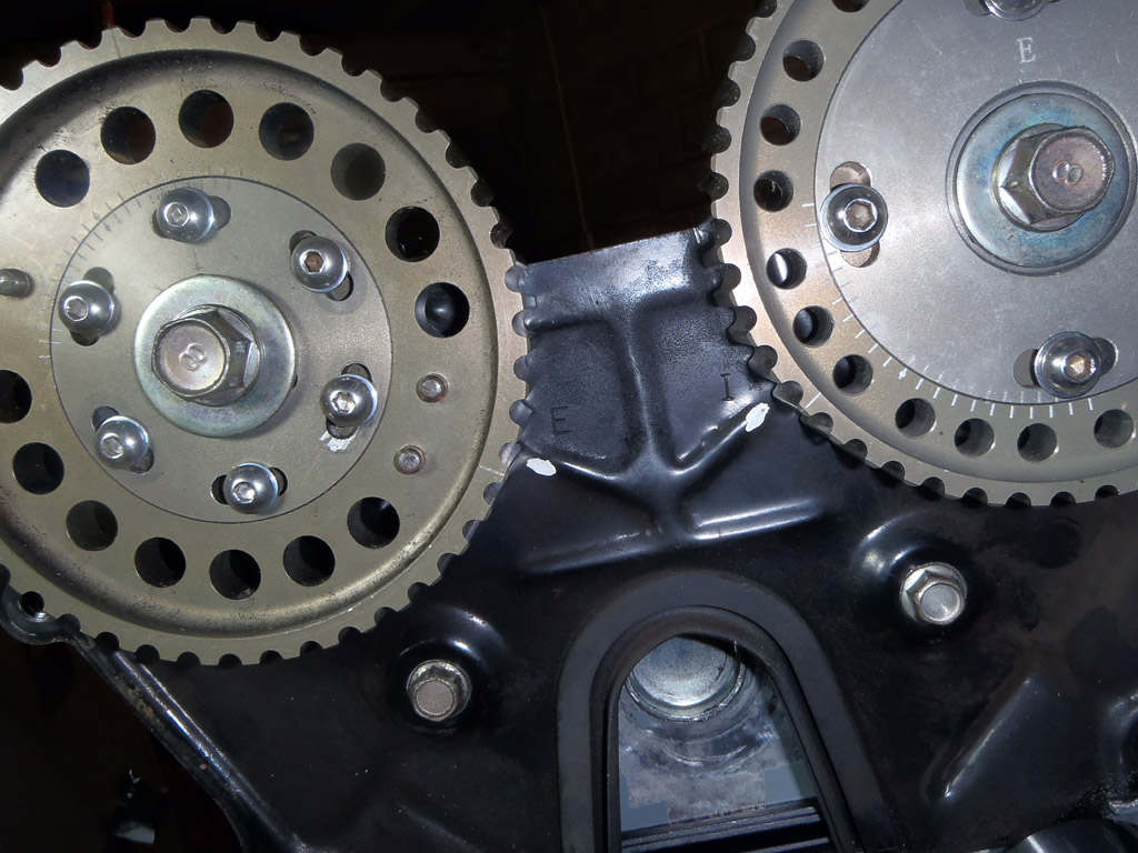 Timing belt fitted | Westfield build, Mazda SDV