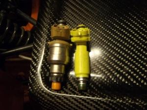RX8 injector vs tan MX5 injector